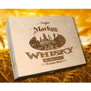 Holzkiste mit Whiskygläsern mit Gravur Beispiel