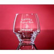 Whiskyglas Open Up 38cl mit individueller Gravur Wunschtext