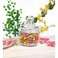 Bonbonglas, Naschtopf Candy breit 50cl gravieren Hochzeit Liebesbotschaft