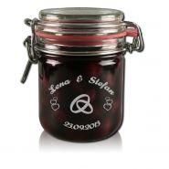 Marmeladenglas Vorratsglas 400ml mit Gravur Hochzeit