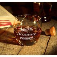 Whiskyglas Salto mit Whiskymotiv Geburtstag