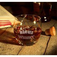 Whiskyglas Salto mit Wunschtext