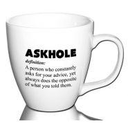 Askhole...