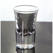 2. Wahl - Schnapsglas Hot Shot / Dublino / Boston - Form 3,4cl - Fehler