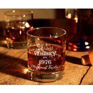 Whiskyglas 30cl mit Gravur Geburtstag - Whiskymotiv