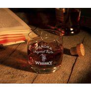 Whiskyglas Vigne mit Whiskymotiv Geburtstag