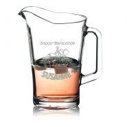 Pitcher Bierpitcher Saftkrug Pitcherkrug Wasserkrug Krug 1,8L mit Gravur