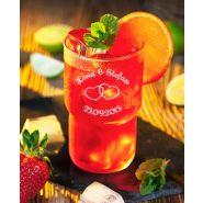 "Longdrinkglas Kinderglas Saftglas Wasserglas ""Log"" 32cl mit Gravur Hochzeit stapelbar"
