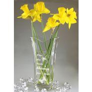 Vase Flora Valencia mit individueller Gravur