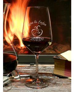 Weinglas Taste 49,7cl individuelle Gravur Hochzeit