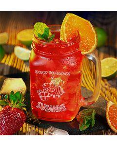 Henkelglas Gravur Cocktail