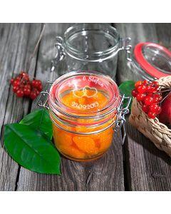 Marmeladenglas Einmachglas Vorratsglas 200ml mit Gravur Hochzeit