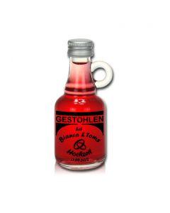 Probierflasche 40ml mit Schraubdeckel individuell bedruckt
