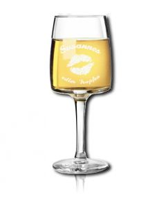 Weinglas Weissweinglas Degustation Axiom 19cl mit Gravur -  Sonderposten