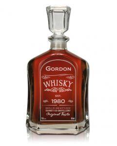 Executive Dekanter, Whiskykaraffe mit Gravur, Whiskyflasche gravieren